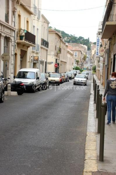 Steile Gassen in Sète