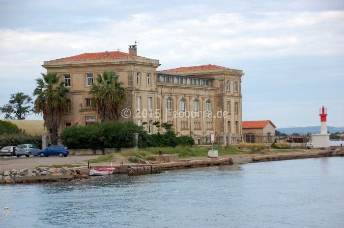 Hafeneinfahrt von Sète
