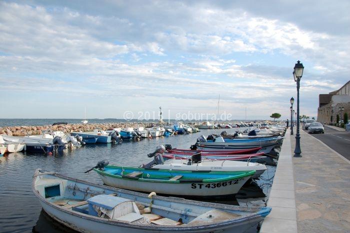 Hafen von Mèze