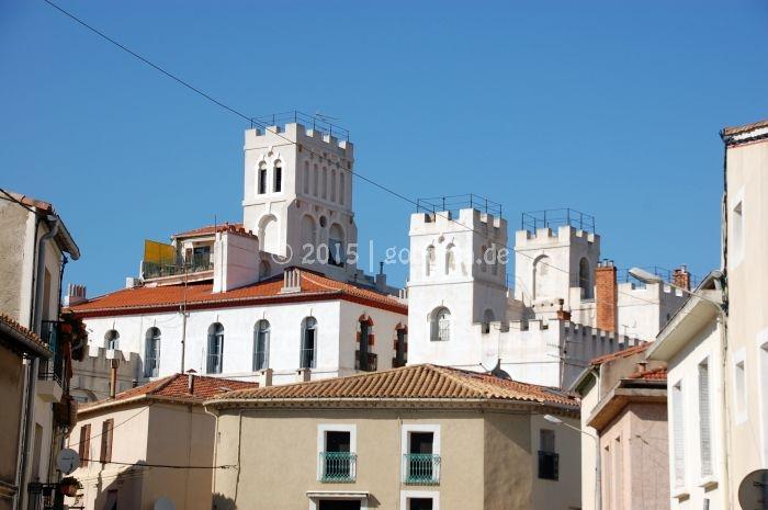 Verschwundene Kirche von Frontignan