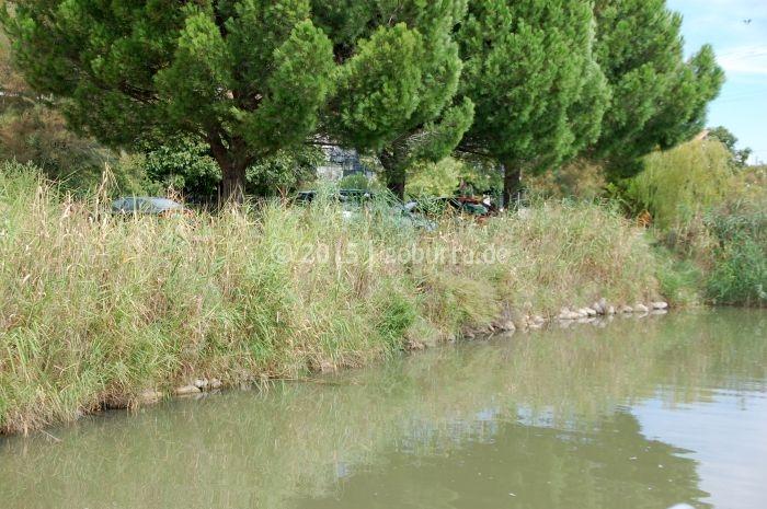 Liegeplatz in Aigues Mortes